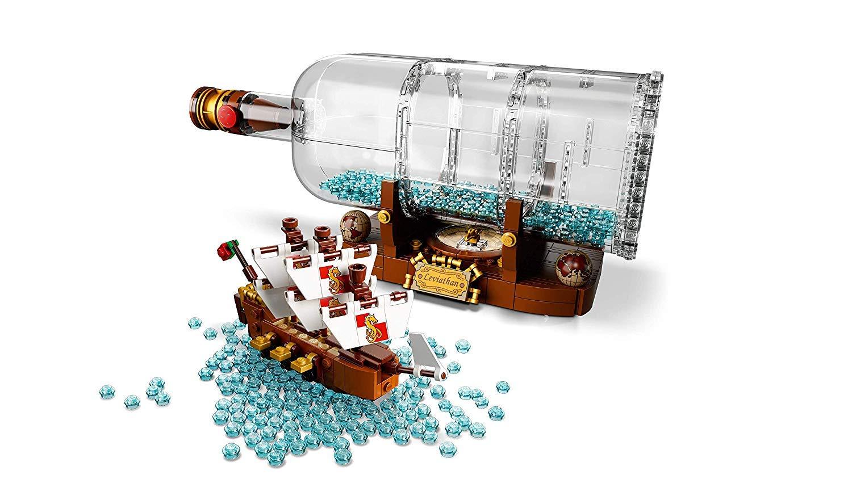 21314 Nave in bottiglia Lego Ideas