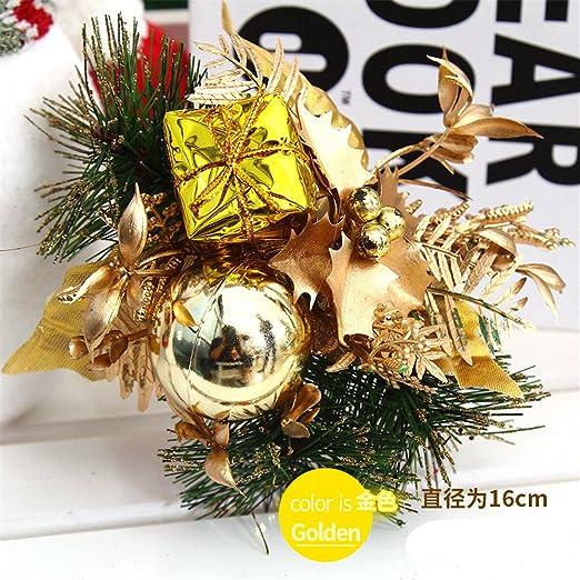 HJHET Adornos del árbol de Navidad pack de regalo floral decorar ...