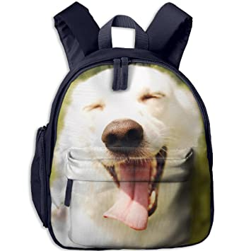 4e686ceb2aa Image Unavailable. Image not available for. Color: Laugh Dog Personalized  Book Bag Cool Animal Kid's School ...