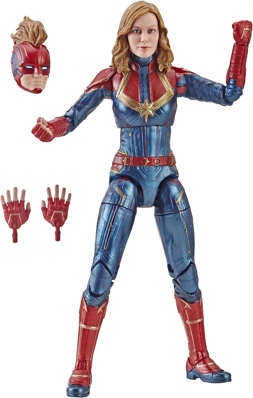 "Marvel Legends Capitaine Marvel 6/"" Scale Action Figure-International"