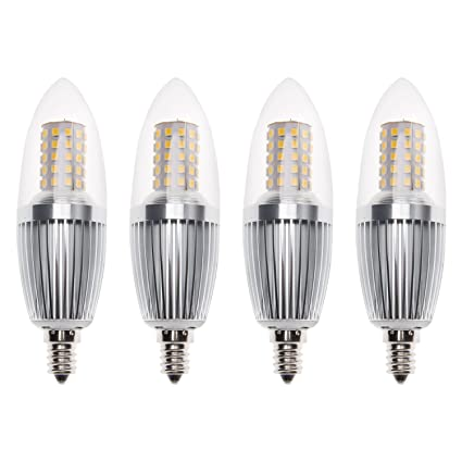 Sagel E12 LED Candle Bulbs, 12W LED Candelabra Light Bulbs 100 Watt ...