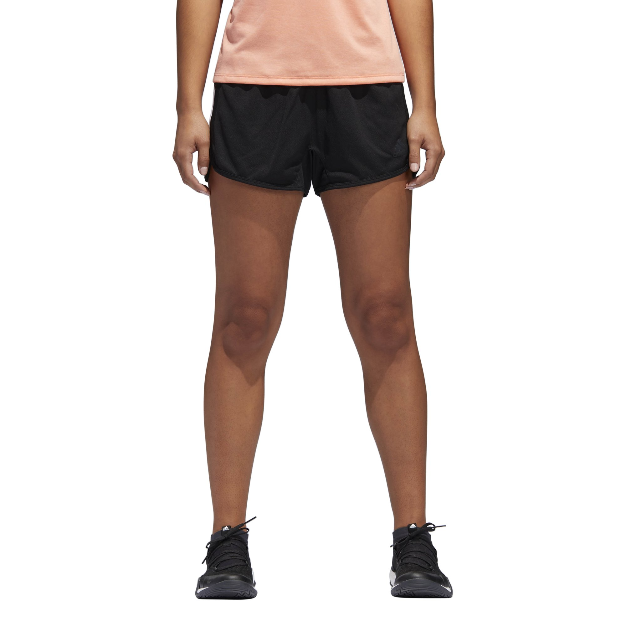 adidas Women's Designed 2 Move Knit Shorts, Black, X-Small by adidas