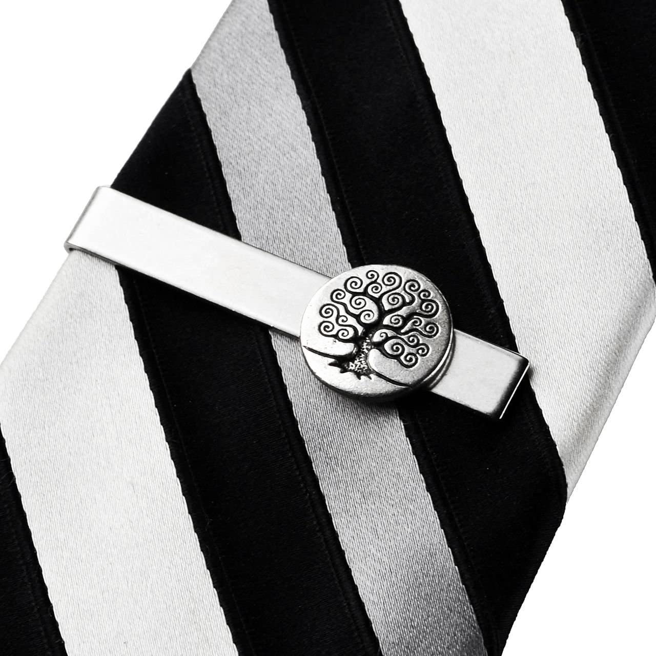 Quality Handcrafts Guaranteed Celtic Tree Tie Clip