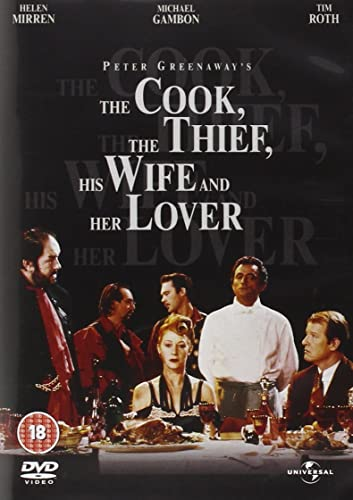 The Cook, The Thief, His Wife And Her Lover Reino Unido DVD: Amazon.es: Richard Bohringer, Michael Gambon, Helen Mirren, Alan Howard, Tim Roth, Ciarán Hinds, Gary Olsen, Ewan Stewart, Roger Ashton-Griffiths, Ron