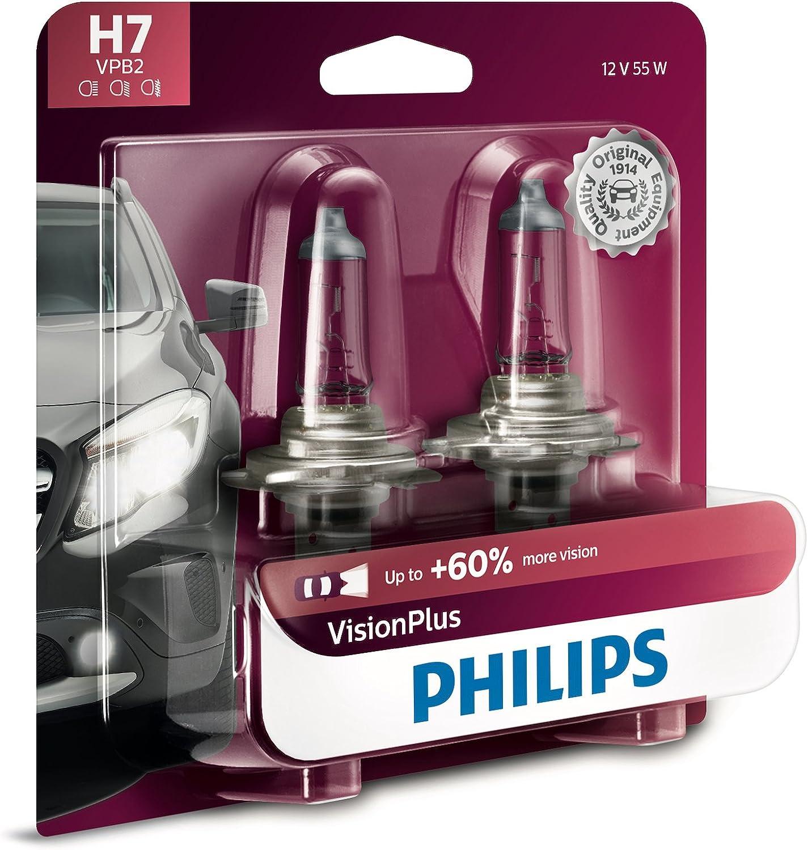 Pair Ring Automotive Xenon Plus H1 55w Headlight 30/% More Light Upgrade Bulbs