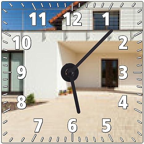 My Puzzle Design Orologio Da Parete L Ingresso Alla Casa Moderna