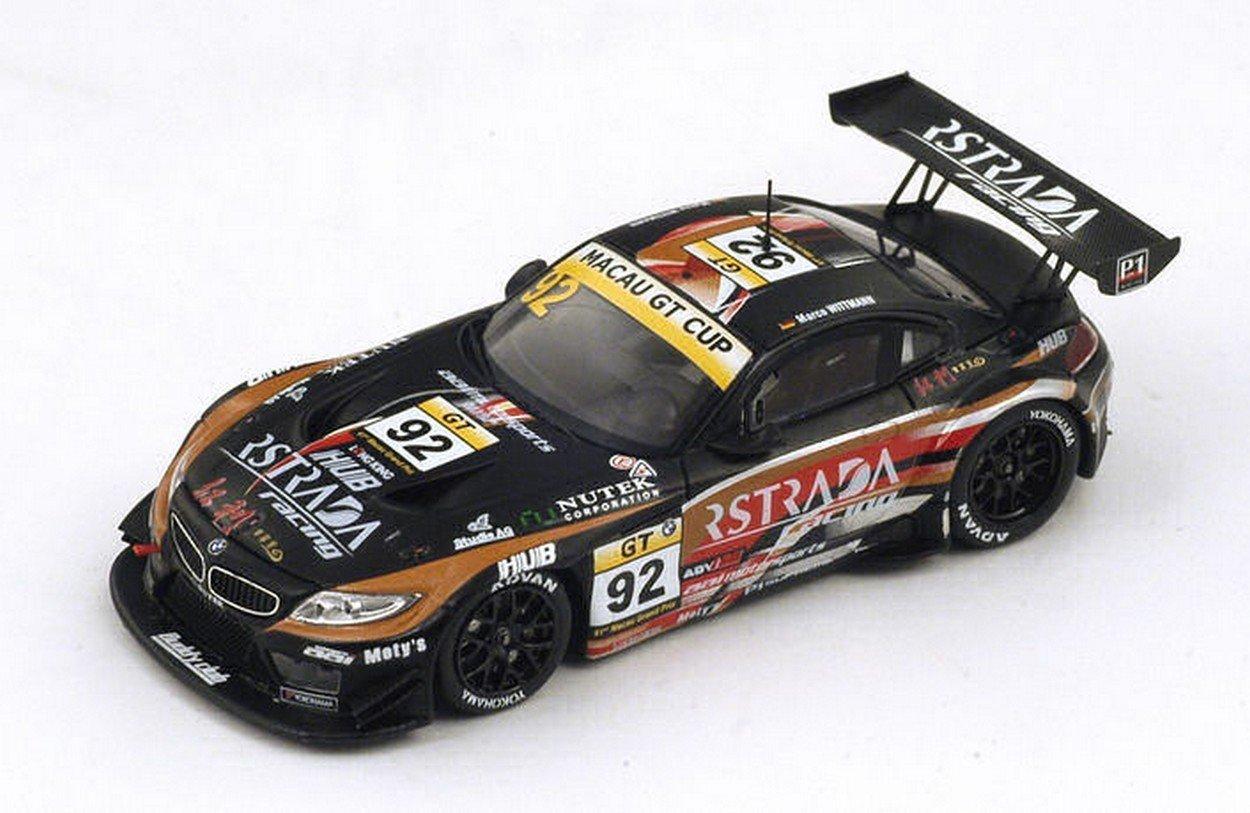Spark Model SA073 BMW Z4 GT3 N.92 7th Macau GP GT Cup 2014 M.Wittmann 1:43 Model