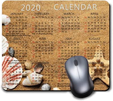 Calendar for 2020 Year Mouse Pad Office Mouse Pad Gaming Mouse Pad Mat Mouse Pad-Betty boop
