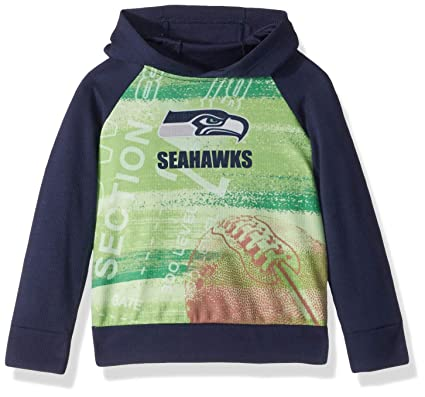 93ae7d6f NFL Seattle Seahawks Unisex Pullover Hoodie, Blue, 3T