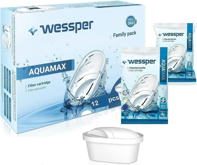 10 Filterkartuschen für Brita Maxtra Britta Wasserfilter Kartuschen von Wessper