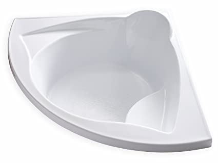 Carver Tubs   ME6060   Drop In Acrylic Corner Soaking Bathtub   60u0026quot ...