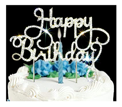 Happy Birthday Cake Topper First Birthday Cupcake Topper Cake Smash