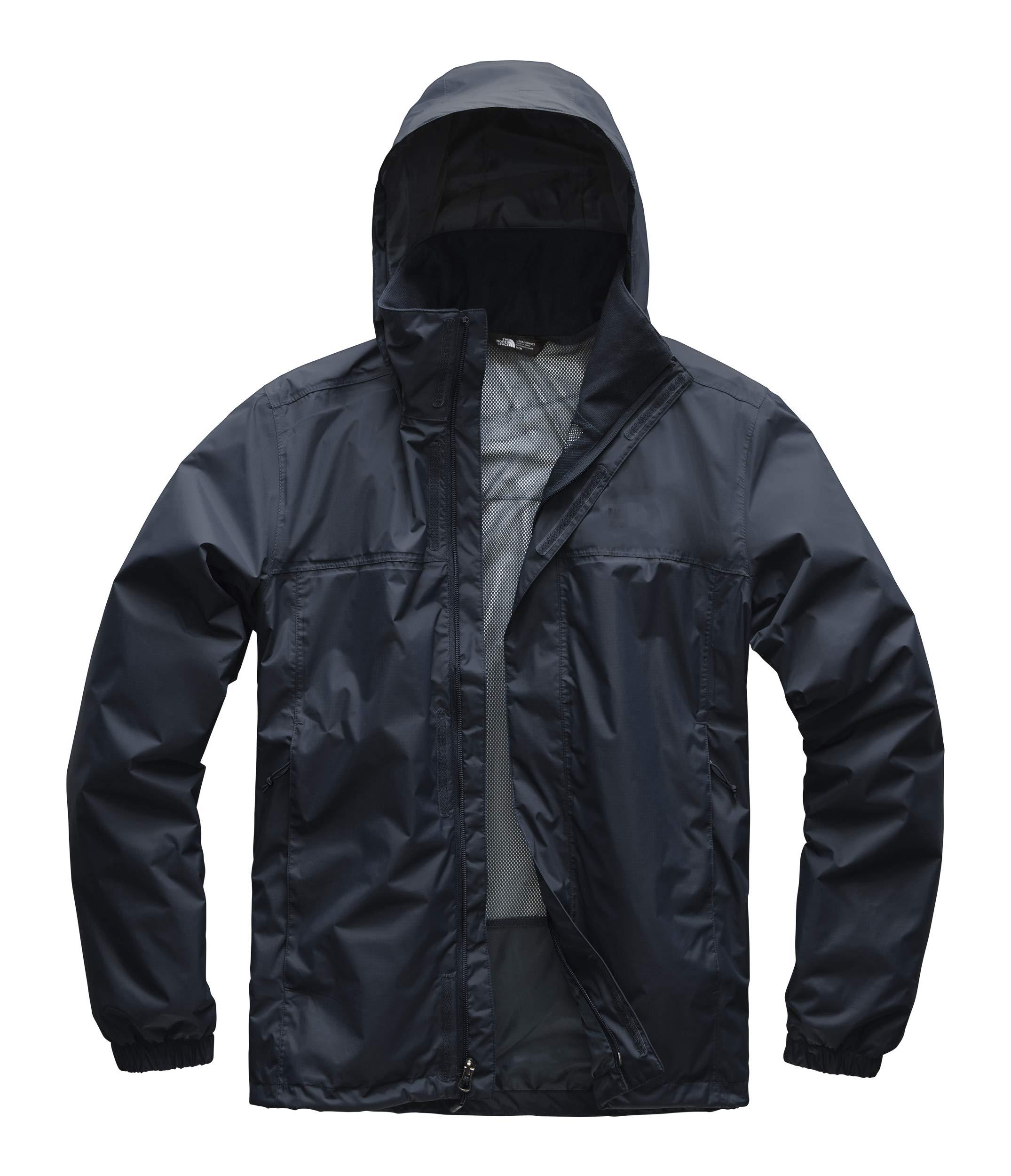 The North Face Men's Resolve 2 Jacket, Urban Navy/Mid Grey, Small