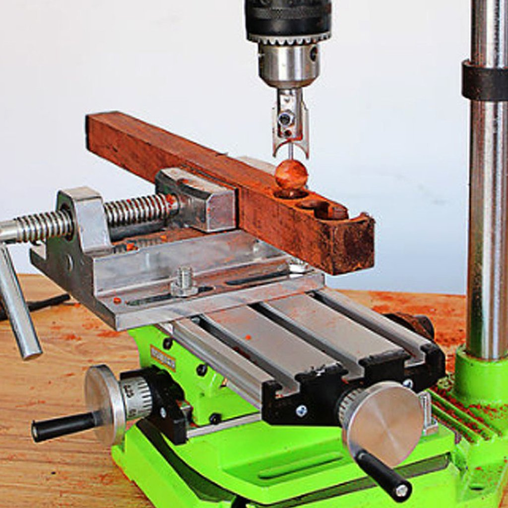 MonkeyJack Multifunction Worktable Compound Milling Working Table Bench Drill Vise by MonkeyJack (Image #9)