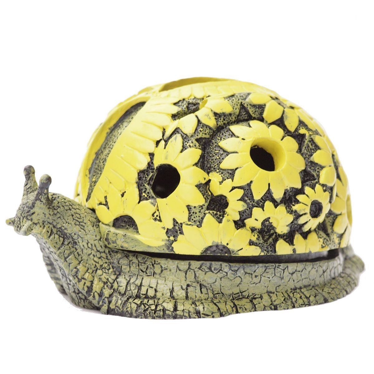 DHS S Turtle Outdoor Ashtray with Lid Decorative Cigeratte Ash Tray Unique Desk Gift for Home and Office