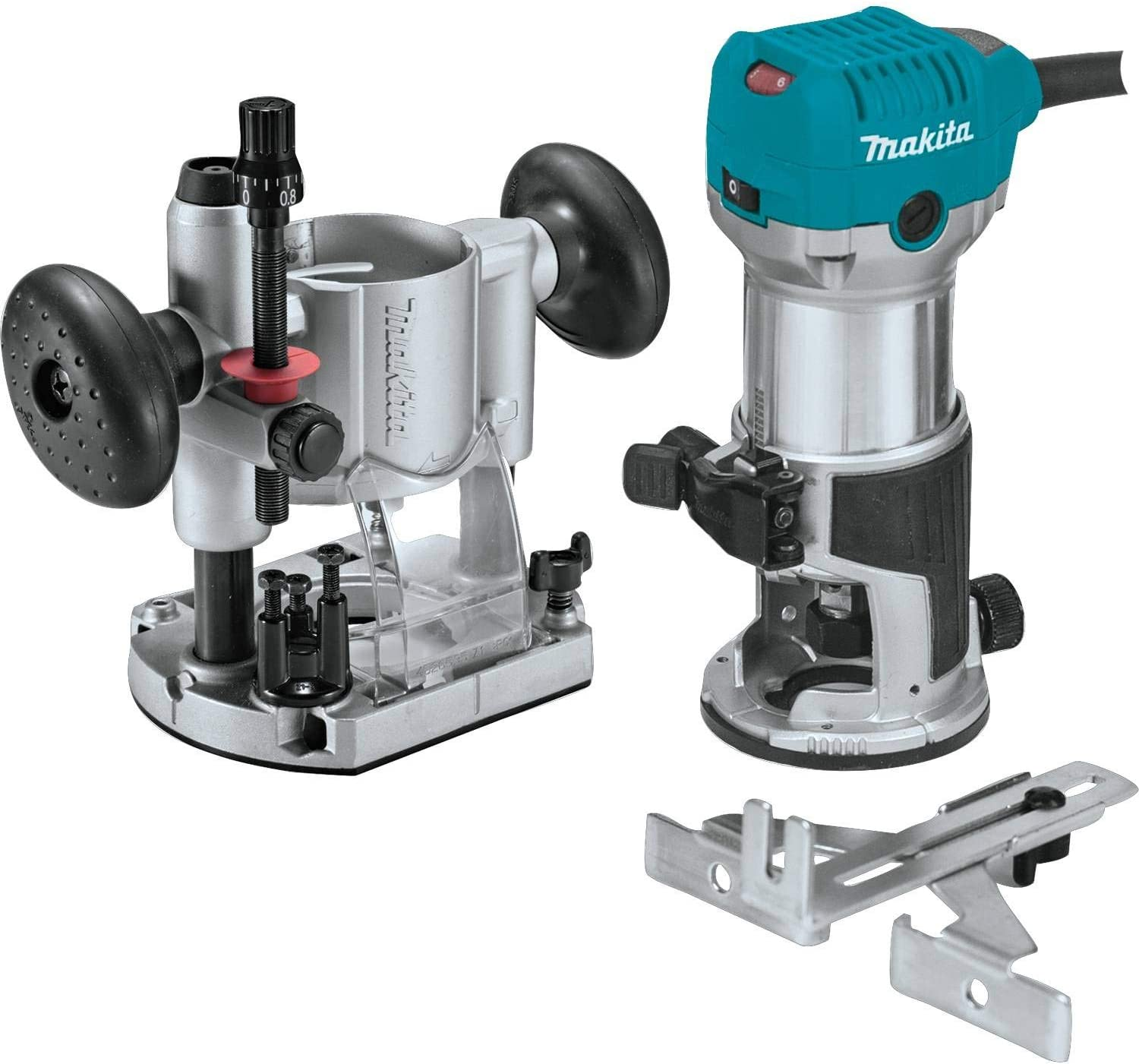 Best Wood Routers: Makita RT0701CX7 1-1/4 HP Compact Router Kit