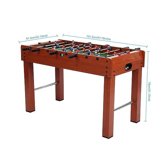 etuoji futbolín competencia 48 pulgadas interior fútbol Arcade ...