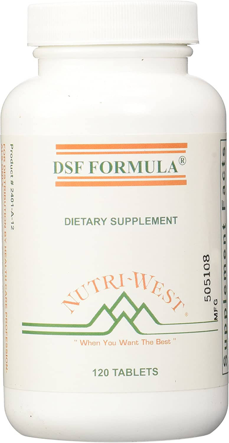 nutri-west DSF Formula Tablets, 120 Count