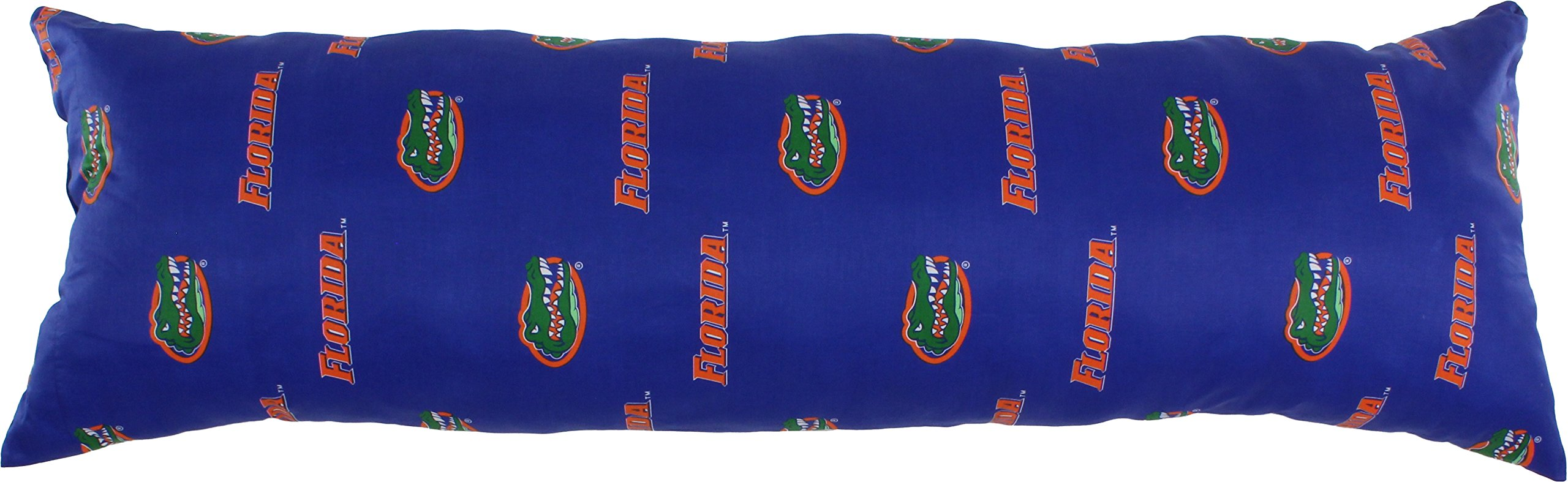 College Covers Florida Gators Printed Body Pillow - 20'' x 60''
