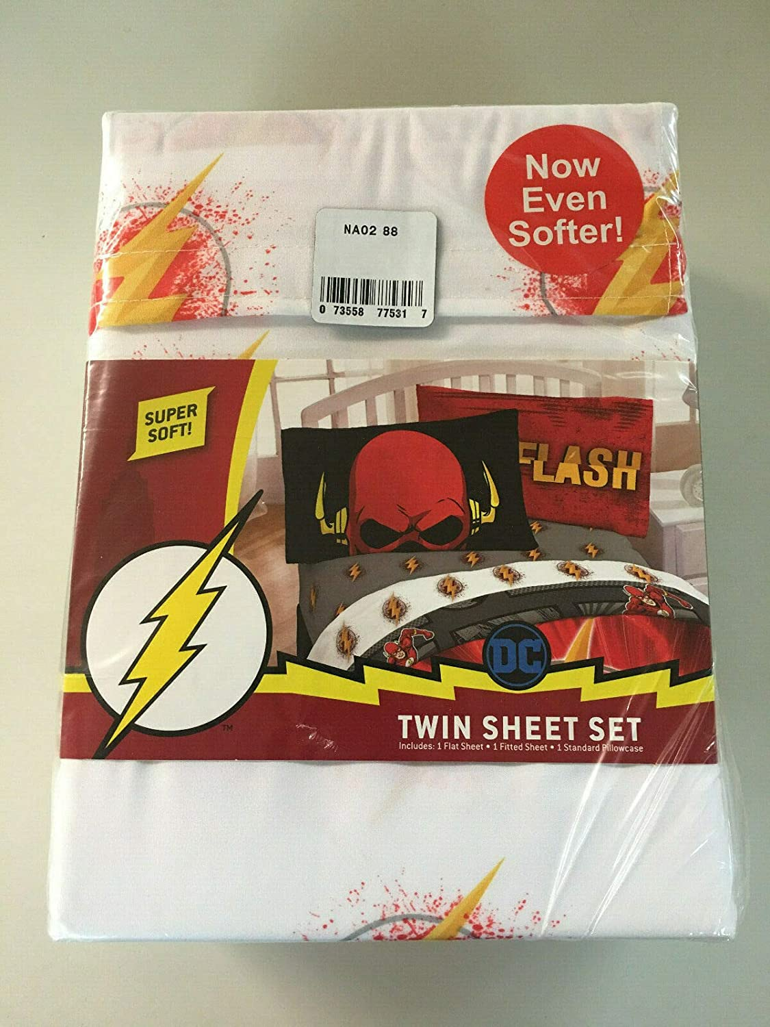 Franco Mfg. Flash Twin Size Sheet Set