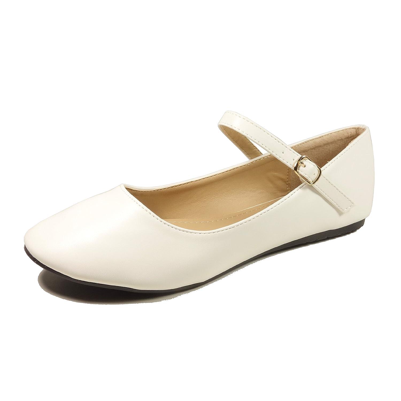 Nova Utopia Women's Mary Jane Style Ballet Flats