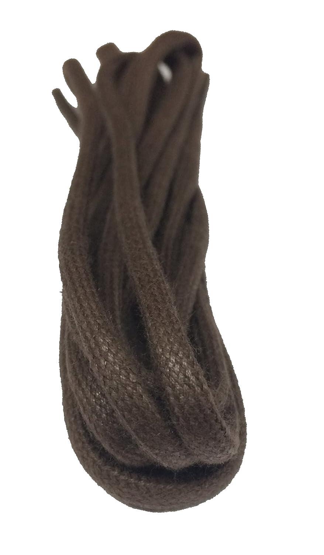 Big Laces Grand Lacets Rond Lacets cirés–5mm de Large–75cm à 180cm
