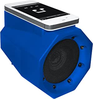BoomTouch 4326553270 Wireless Portable Speaker- No Dock, No Wires, No Bluetooth Required, Amplifies Your Device's Sound, As Seen On TV (Blue)