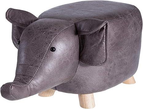 Elefant HOQ Tierhocker f/ür Kinder