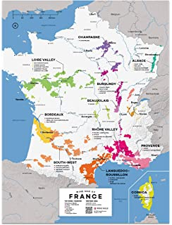 Map Of France Poster.Amazon Com Map Of France Carte De France Poster Print