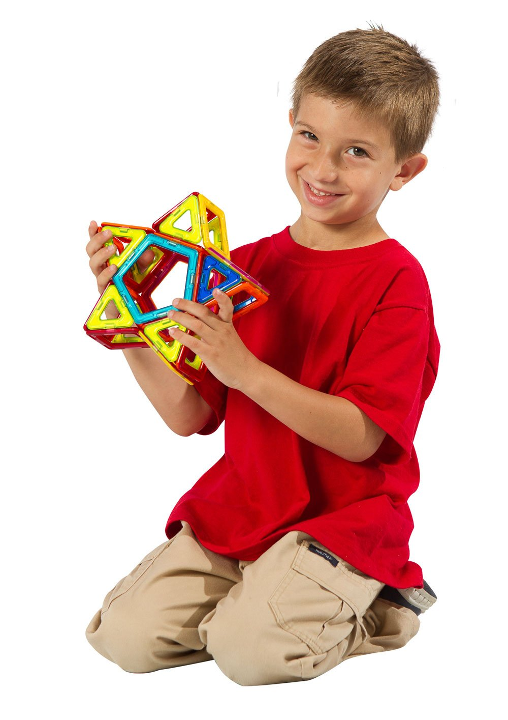 Magformers Basic Set (62-Pieces)  Magnetic Building Blocks, Educational Magnetic Tiles, Magnetic Building STEM Toy by Magformers (Image #6)