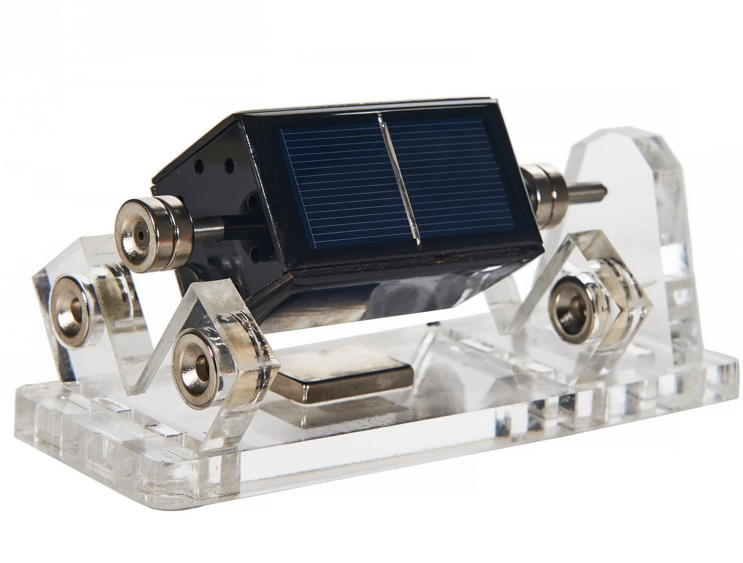 3f104216131 Details about Solar Mendocino Motor Magnetic Levitating Educational Model  No Propeller
