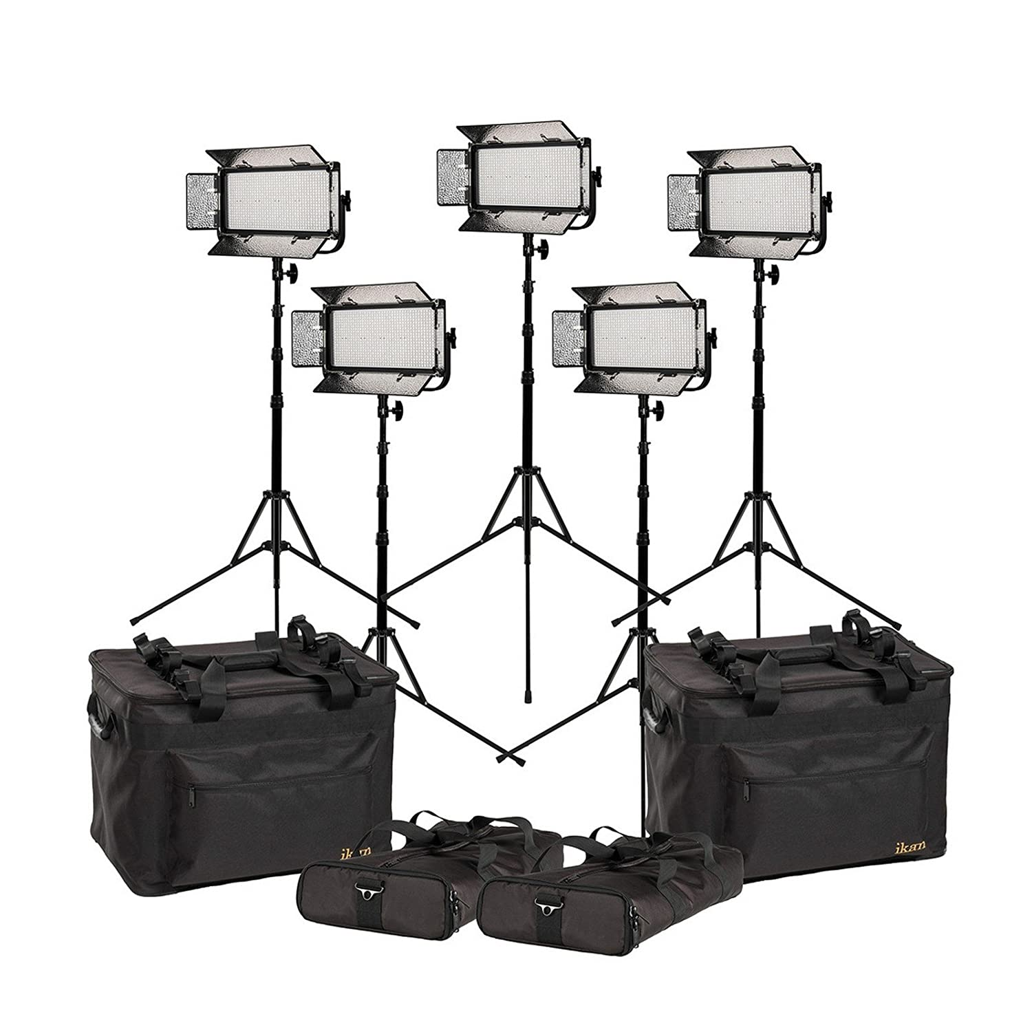 Ikan mb8 – 5pt-kit | Mylo Biカラー5点5600 K LEDライトwith Stands   B01MTA650N