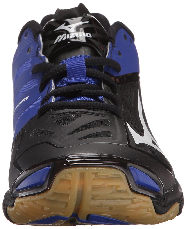Mizuno Women's Shoe Wave Lightning Z2 Volleyball Shoe Women's B01AUPS0LU 10.5 D US|Black/Royal 003128