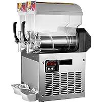 BuoQua 2x15l Slusheis Maschine 600W Slush Maker kommerziell Slush Ice Machine Slush Eismaschine Frozen Drink