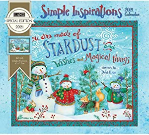 The Lang Companies, Simple Inspirations Special Edition Wall Calendar 2021