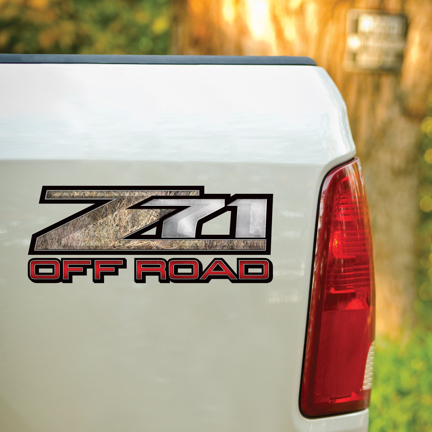 Mossy Oak Graphics 13033-BR-L 16.5 x 6.75 Brush Z71 Style Decal