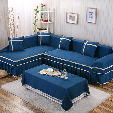 YEARLY Telar Funda de sofá, Europeo Funda para sofá Sala de ...