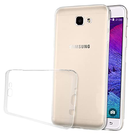 LUCKLYSTAR® Carcasa para Samsung Galaxy J5 Prime Slim Transparente TPU Silicona Funda Anti-Rasguño Anti-Golpes Protective Case para Samsung Galaxy ...