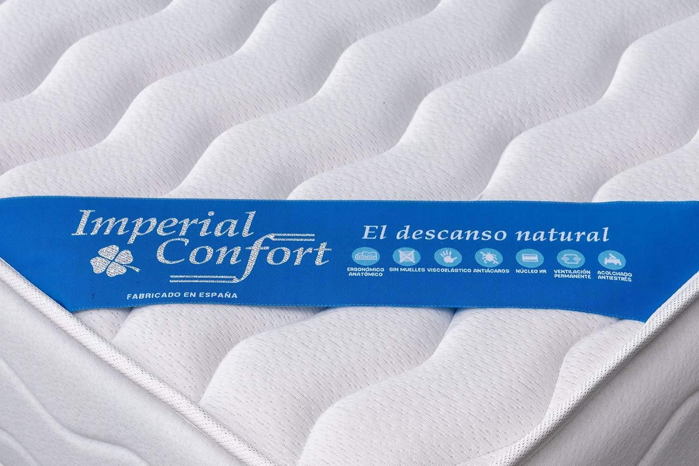 Imperial Confort Oslo 21 Colchon viscoelástico, Tela, Blanco, 90x190: Amazon.es: Hogar