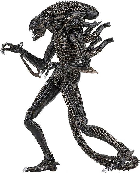 Aliens ULTIMATE ALIEN WARRIOR Action Figure NECA New Brown Version 2019