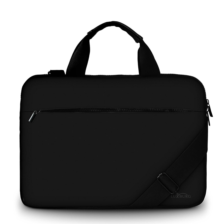 motif Gecko Luxburg Design sacoche business rembourr/ée pour ordinateur portable /à 13,3-14,2 pouces sac /à bandouli/ère multifonctionnel