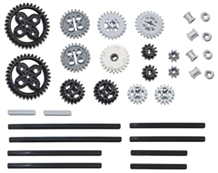 Mindstorms nxt ev3 motor power functions pack LEGO 61pc gear axle SET Technic
