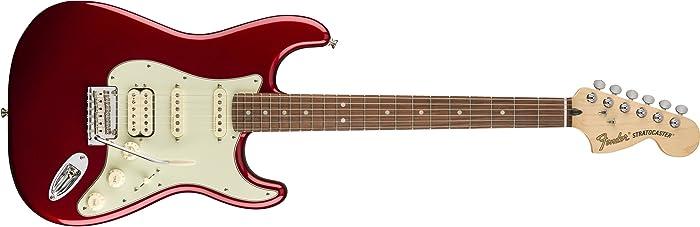 Fender Deluxe Stratocaster HSS Pau Ferro Fingerboard Candy Apple Red
