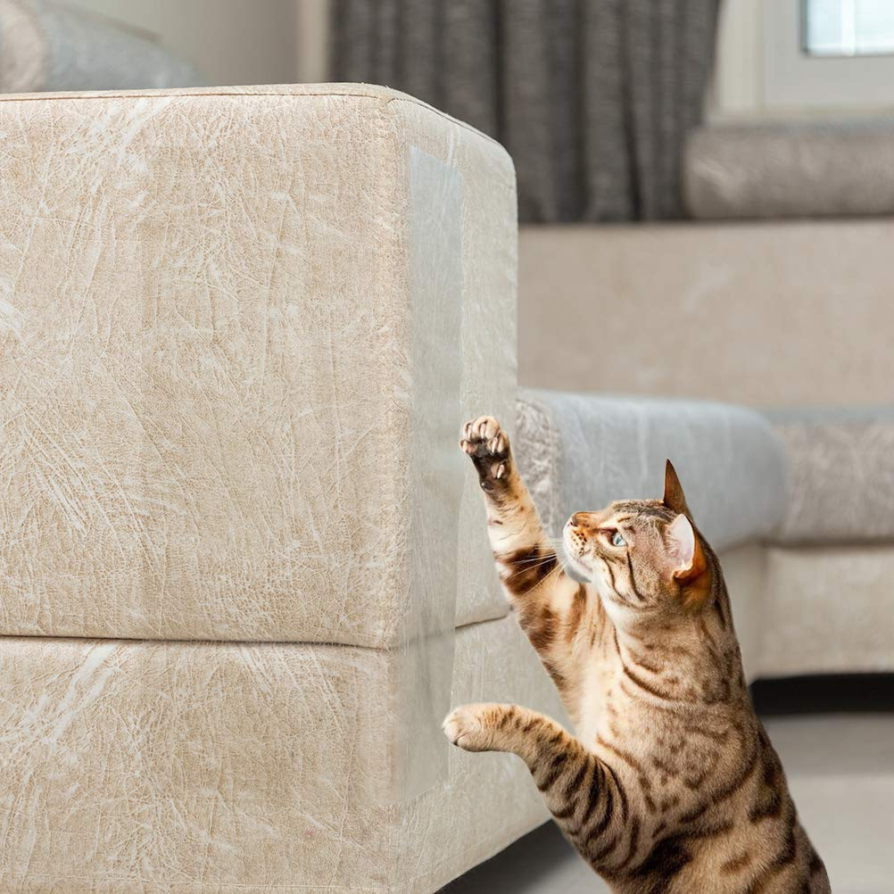 Cinta disuasoria para Gatos SCIROKKO Invisible pel/ícula Protectora Transparente Ligera