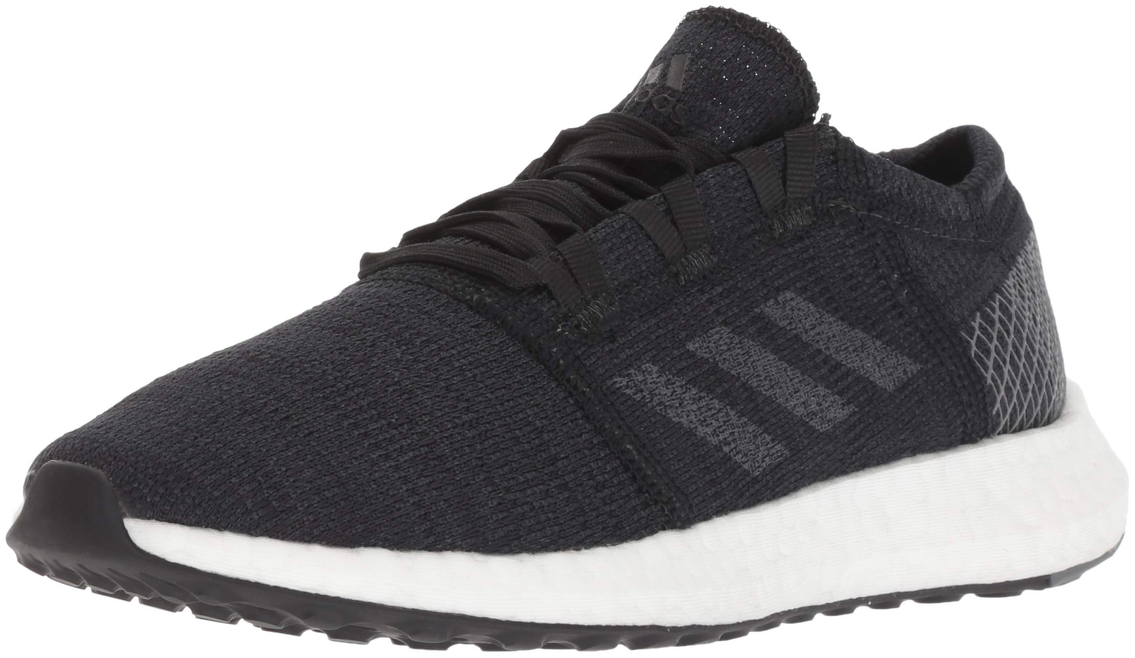 adidas Women's Pureboost Go Running Shoe, Black Grey, 6 M US