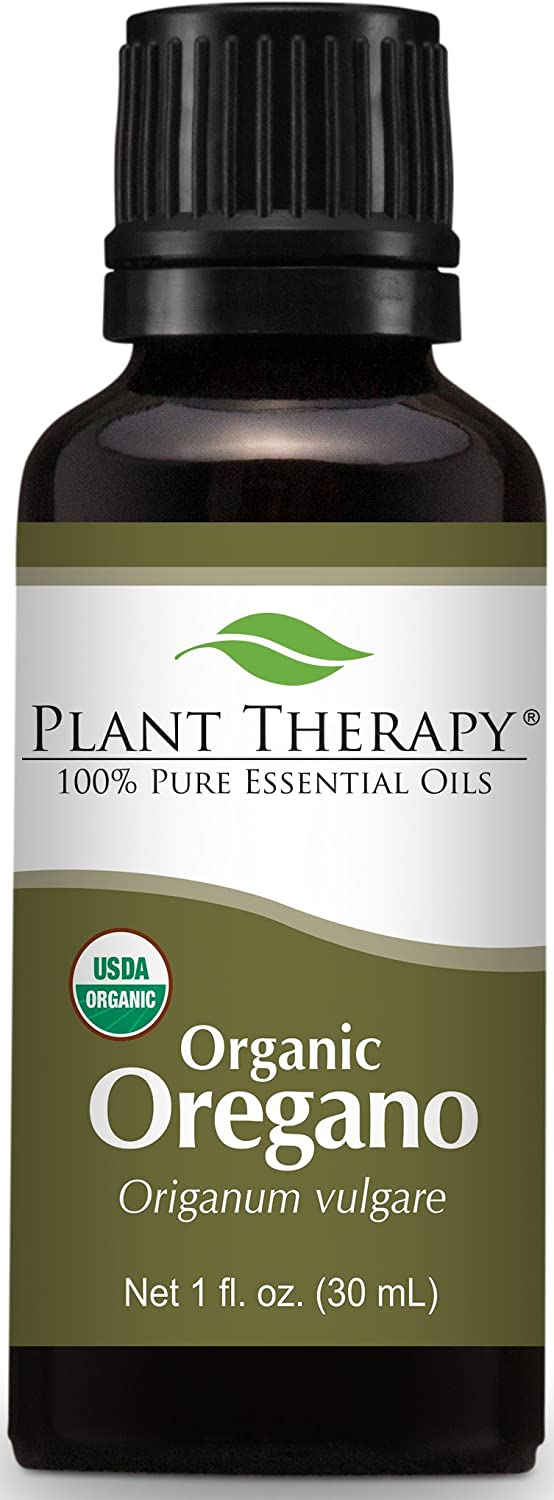 Organic Oregano Essential Oil. 30 ml (1 oz). 100% Pure, Undiluted, Therapeutic Grade. Plant Therapy Essential Oils