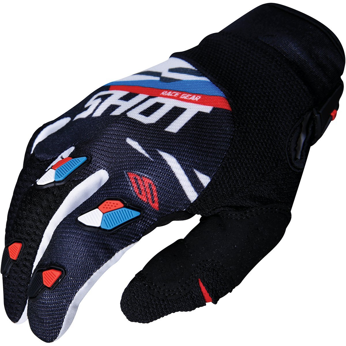 Shot Score Mens Off-Road Motorcycle Gloves Grey//Neon Yellow//Small 244-02131