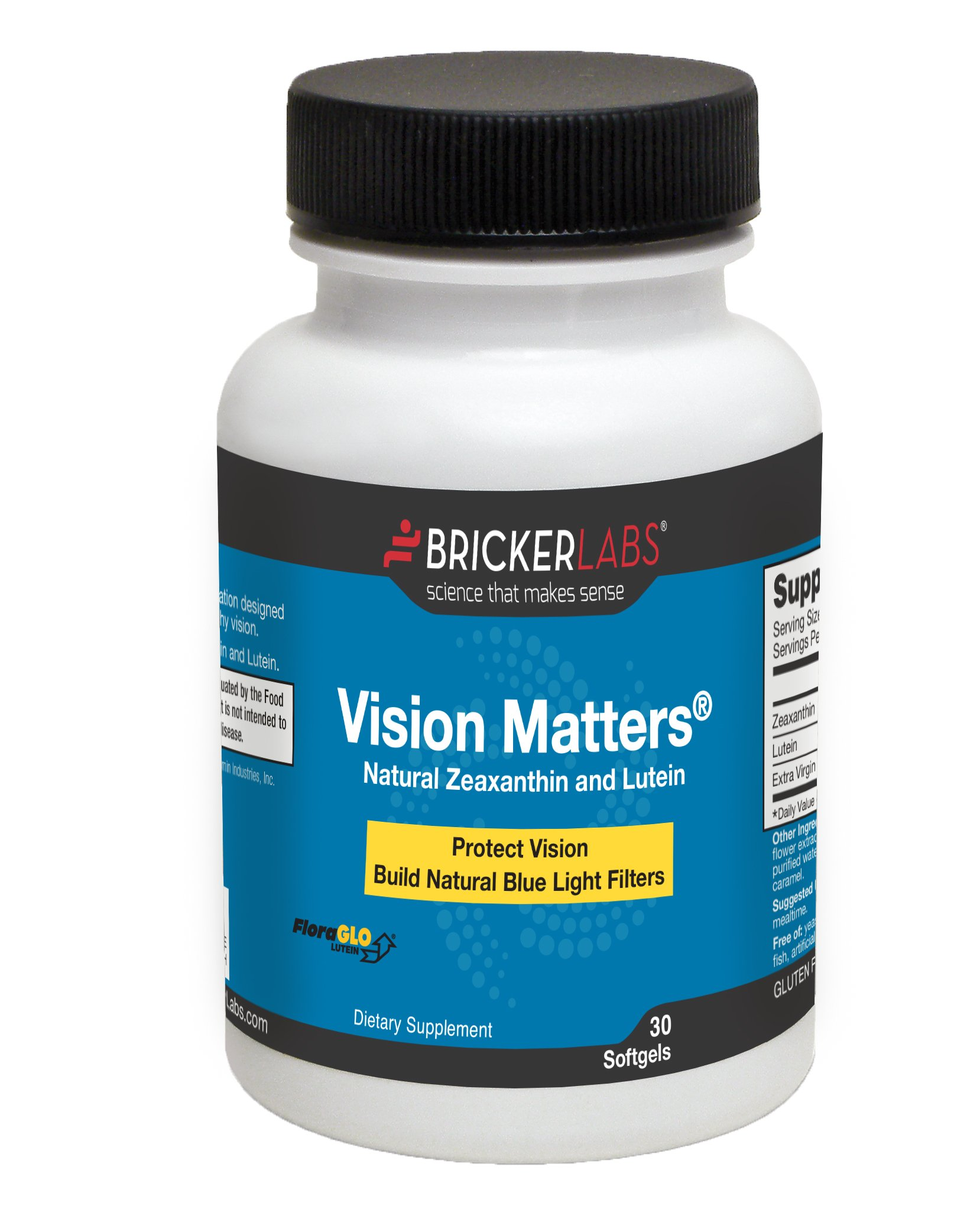 Vision Matters Natural Zeaxanthin and Lutein acting as Antioxidant - Vision Supplement - Protect Eye Health when Using Digital Devices