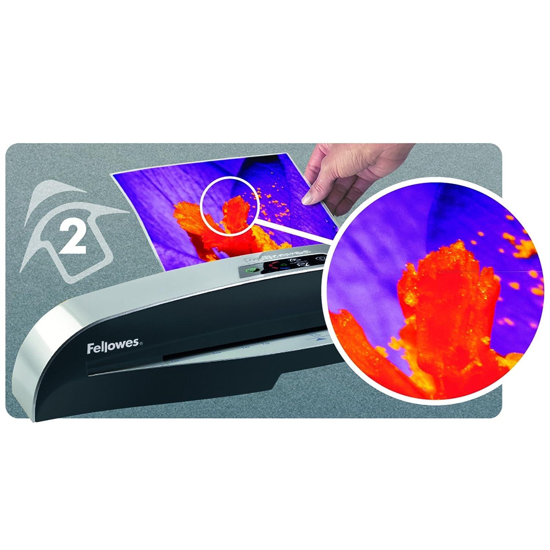 5x500 Blatt DIN A4 Wei/ß 100er Pack Fellowes ImageLast Laminierfolien 80 Mikron 80 g//m/² /& Basics Druckerpapier DIN A3
