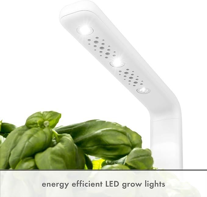 Click & Grow Smart Garden 3 Jardinera De Inter, Blanco, 30 X 10 X ...